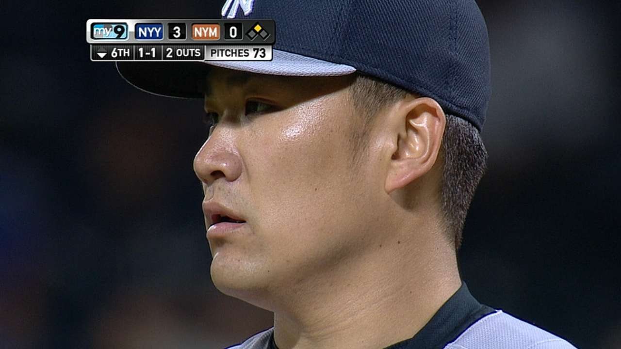 Tanaka honored for sensational May