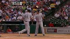Abreu's hit-by-pitch, Dunn's homer spark Sox