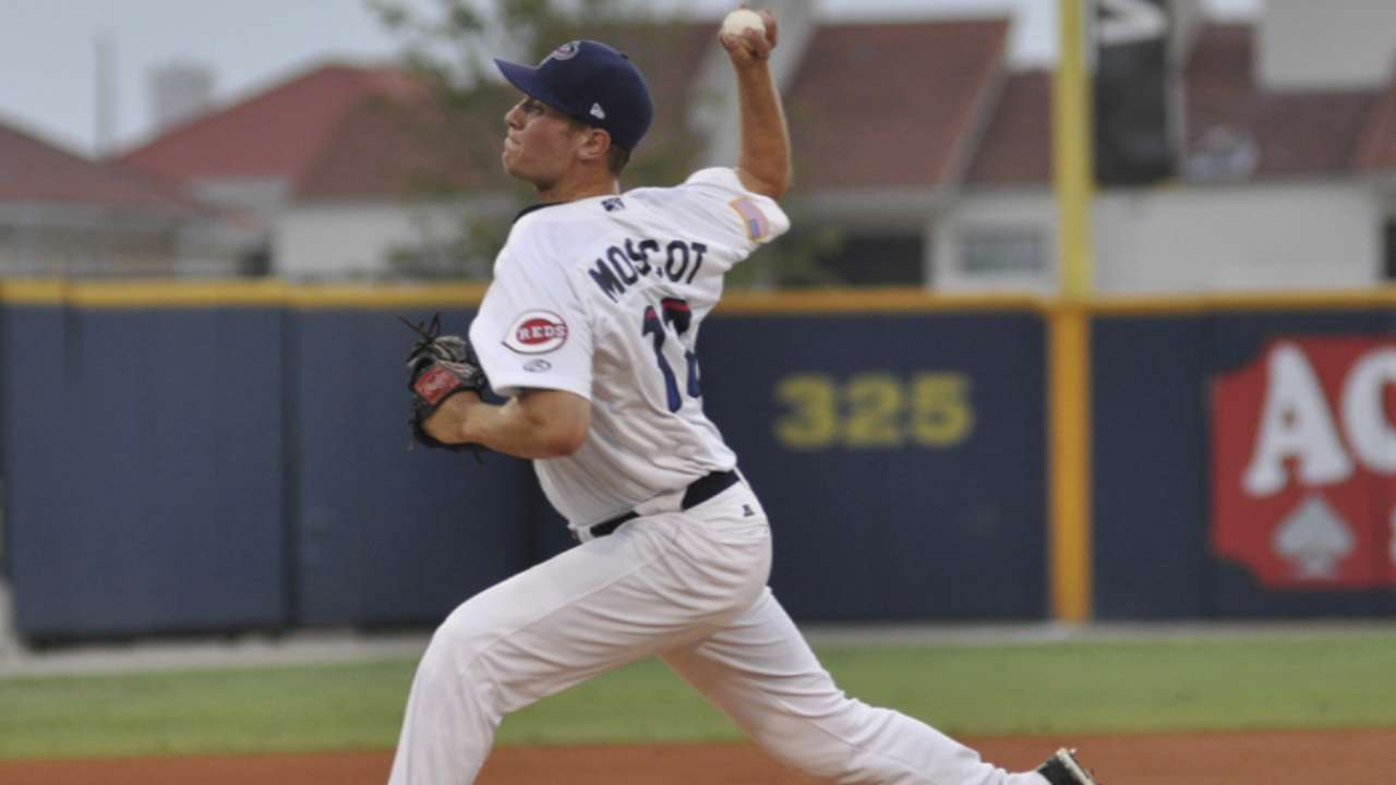 Moscot adds seven scoreless to impressive year