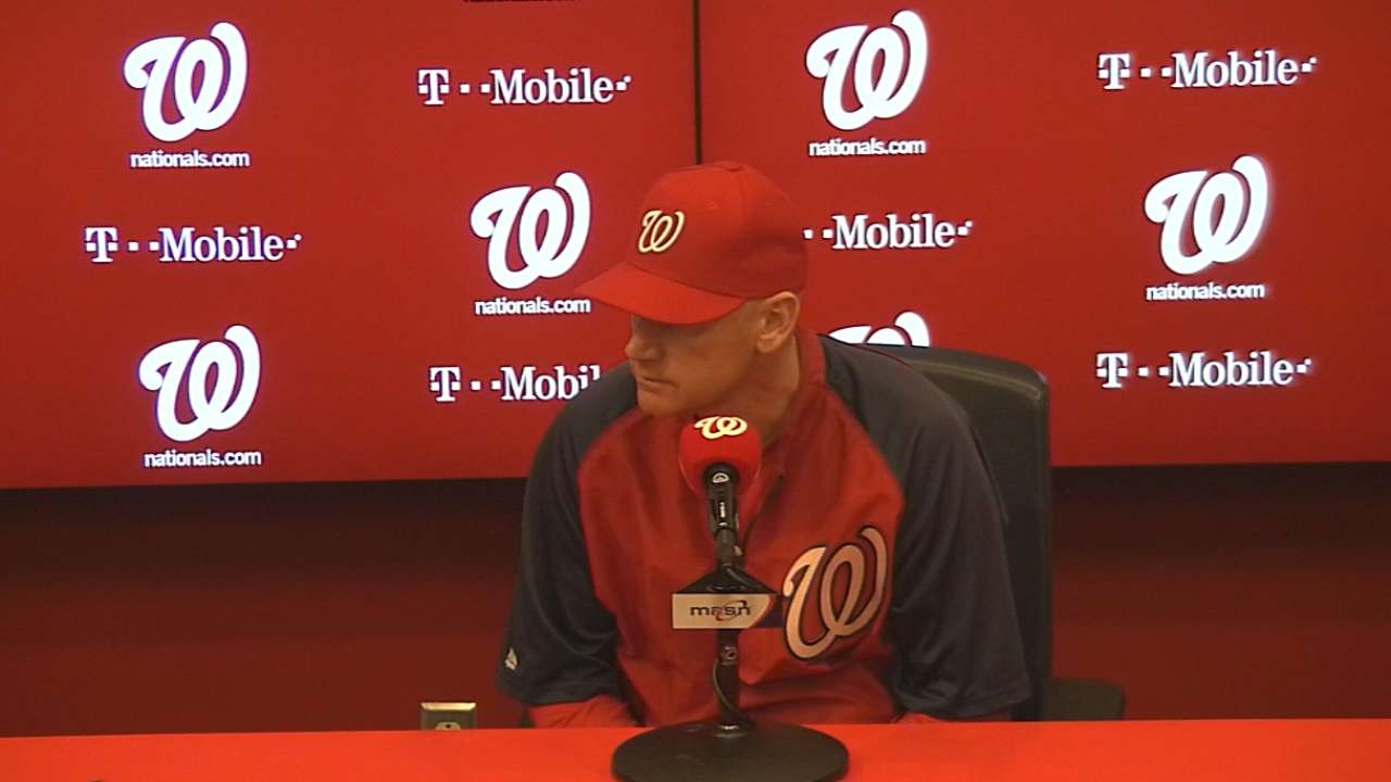 Nats out to reverse trend of giving up early runs