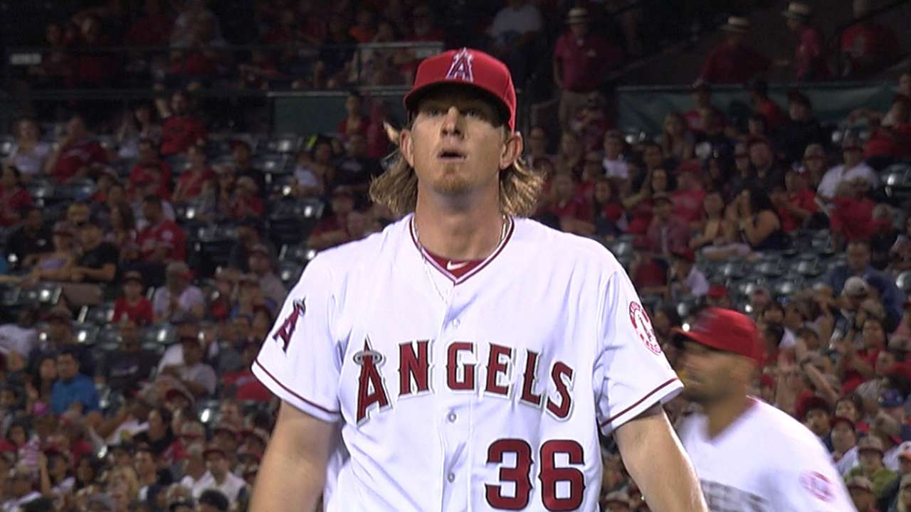 Weaver gets better, Pujols continues to slump in loss
