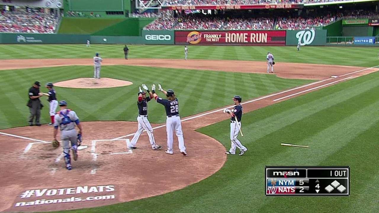 Nats can't rally after Gio's season-low three frames