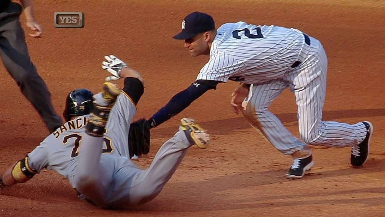 Bucs, Yanks each win challenges at second base
