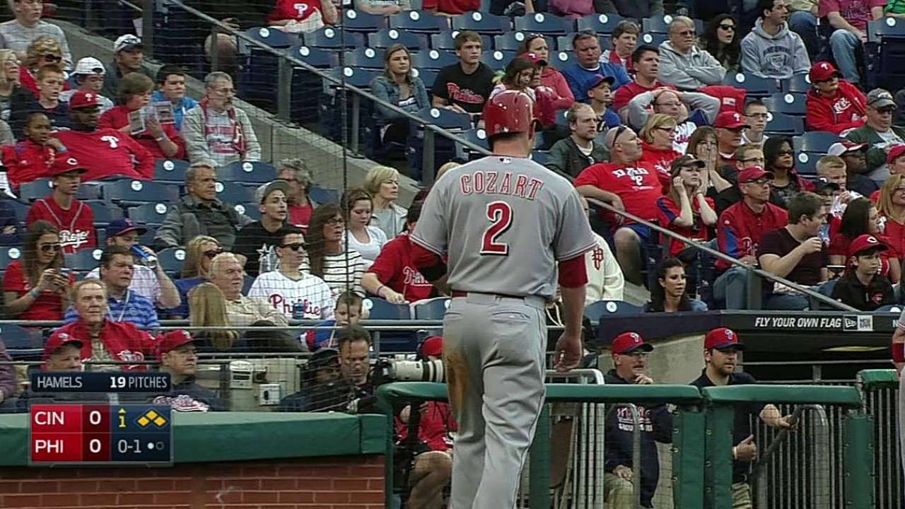 Ludwick gets a break in opener