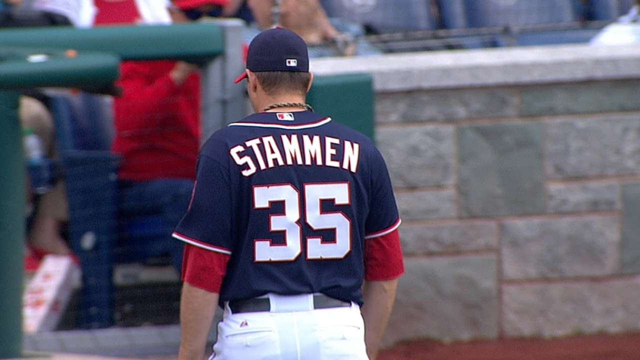 Stammen looks back on big league debut