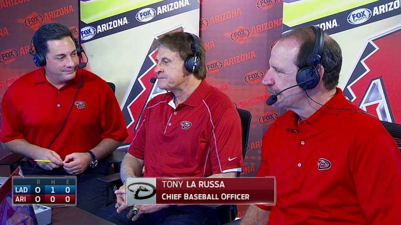 Players happy to have La Russa on board