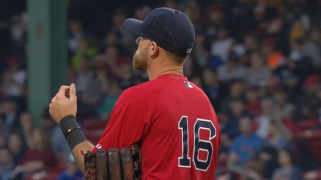 Rehabbing Middlebrooks on fire at Pawtucket