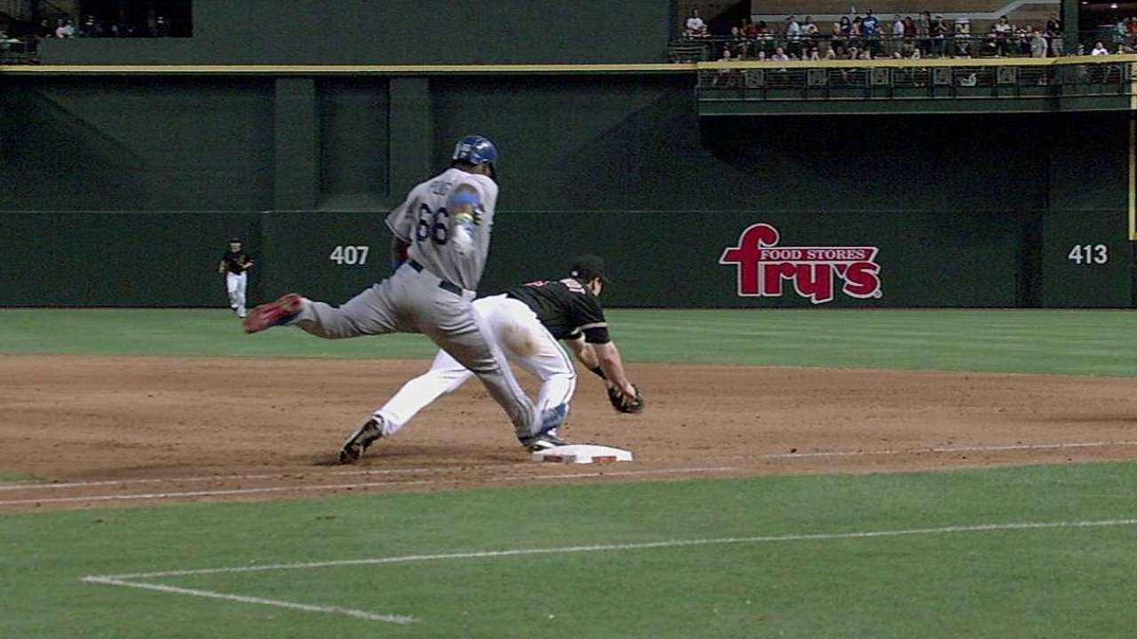 Mattingly loses challenge on play at first base