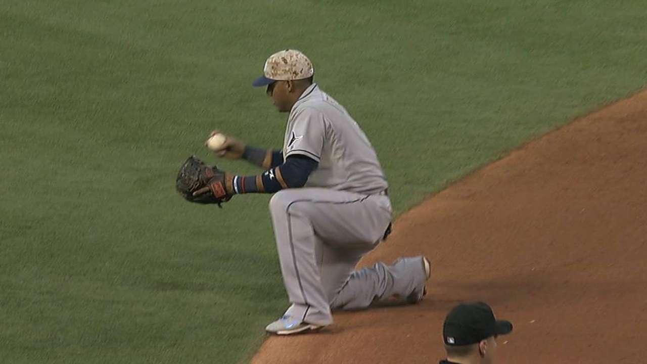 Ataque, pitcheo de T.B. fueron dominados en Anaheim
