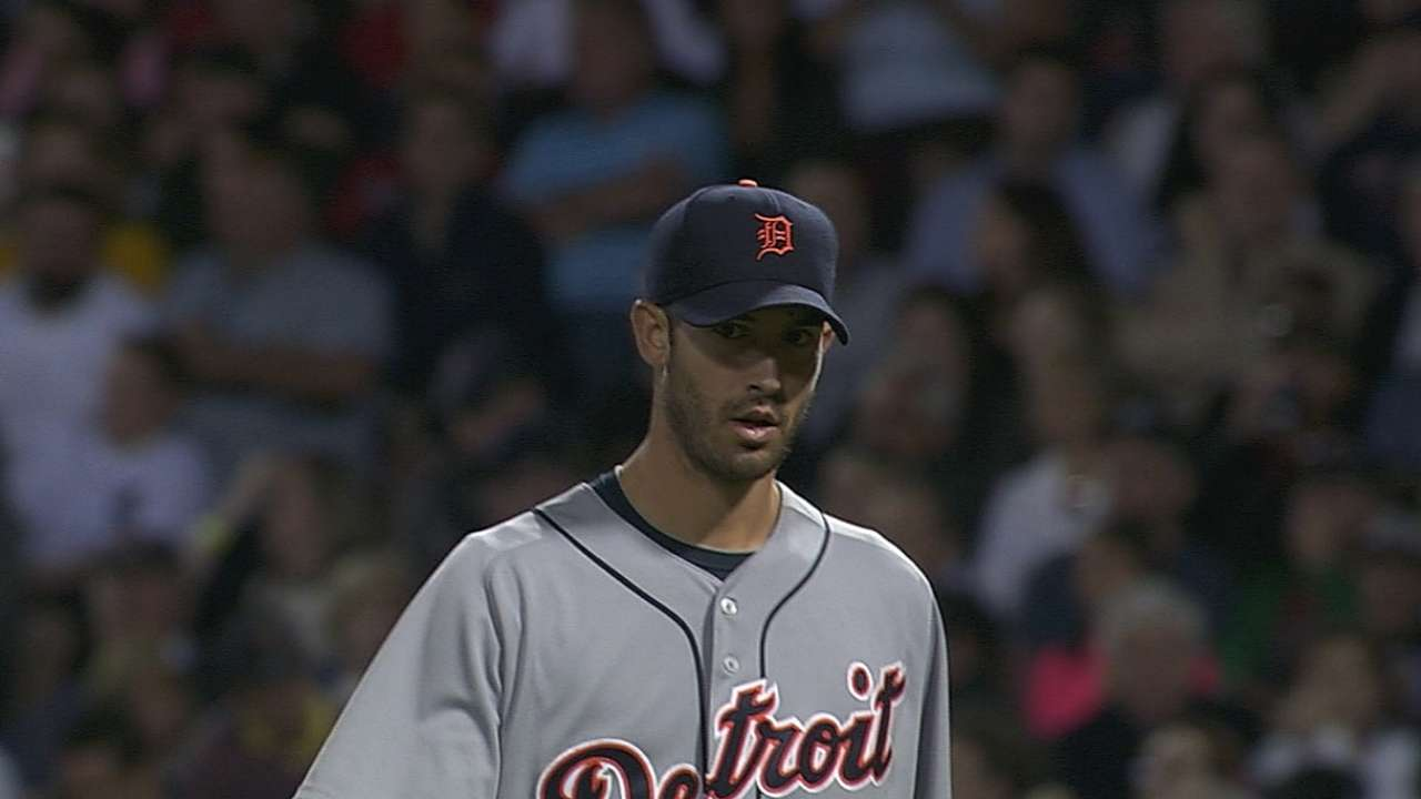 Porcello stymies Red Sox for sixth straight win