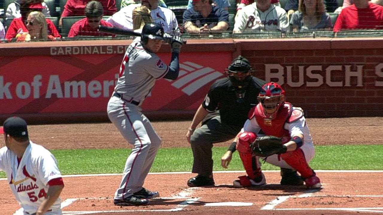 Patience a virtue for Braves' bats of late