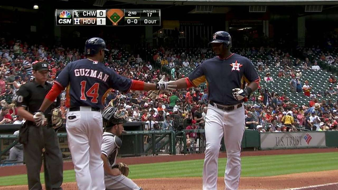 Astros starting to find consistency at plate