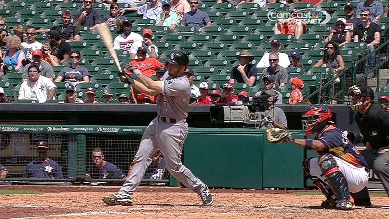 White Sox no pudieron contener ataque de Astros
