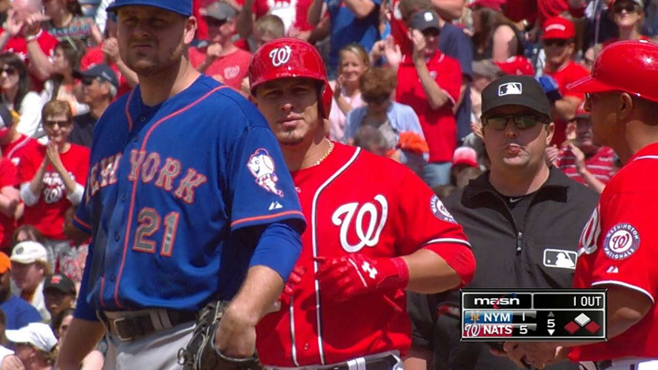 Ramos' big game propels Nats to series win over Mets