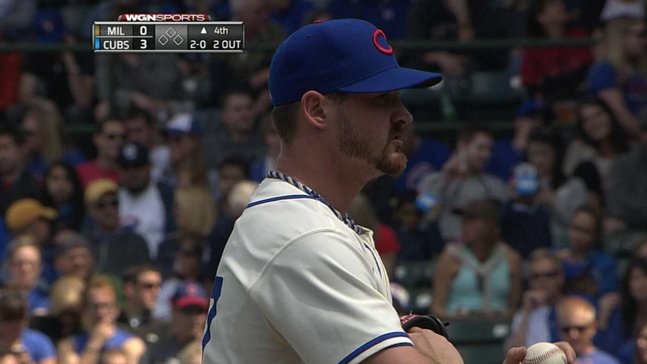 Wood solid as Cubs wrap up series victory