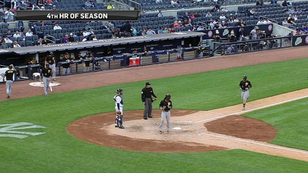 Piratas reaccionan y se llevan 2do juego vs. Yankees