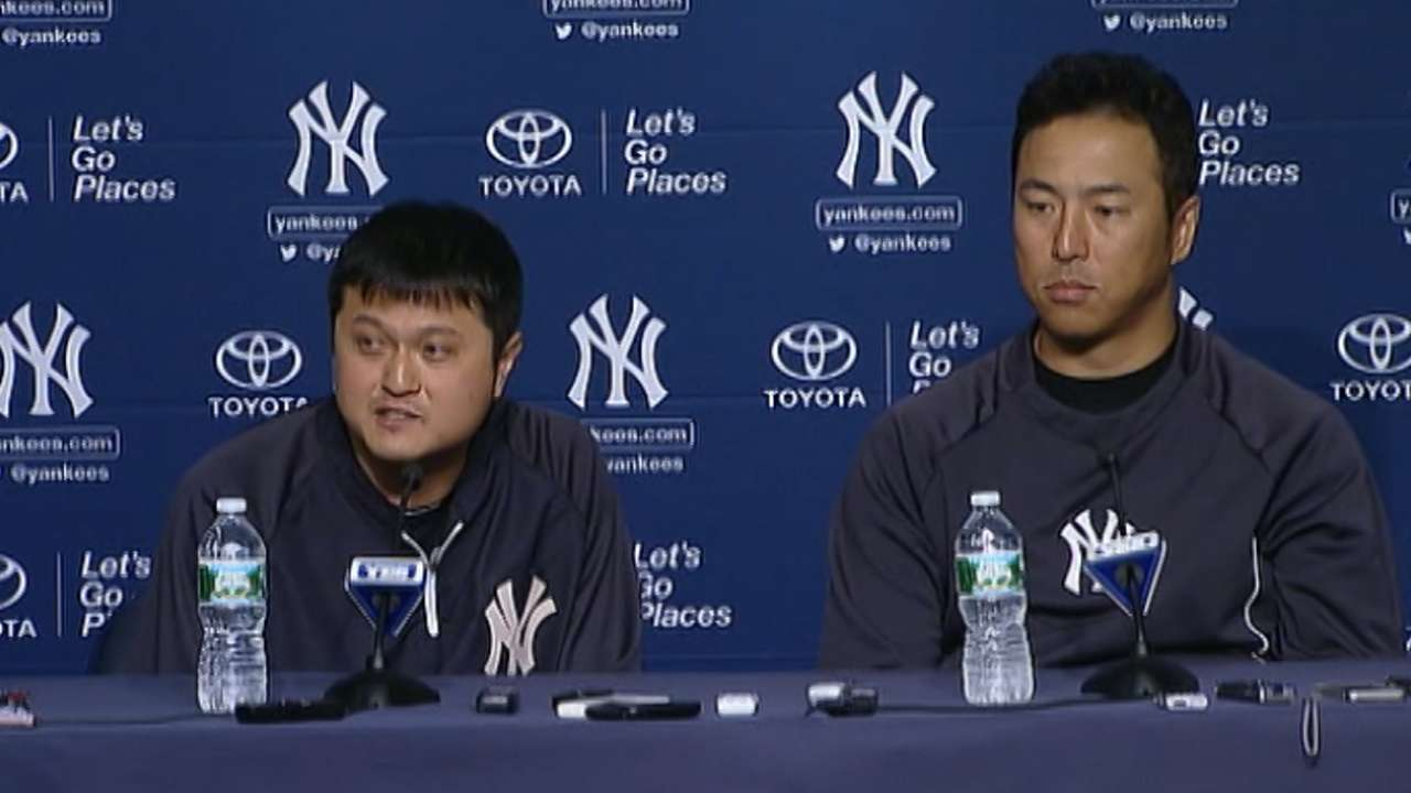 Yankees counting on Japanese trio to deliver