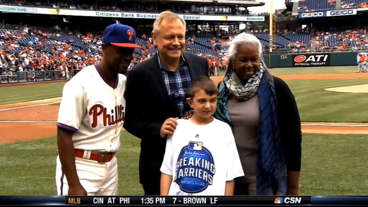 mlb breaking barriers essay contest According to major league baseball, raymond beasley of brentwood has been named one of two grand prize winners of the national breaking barriers essay contest.