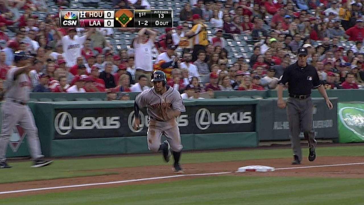 Astros se imponen en Anaheim con joya de Keuchel