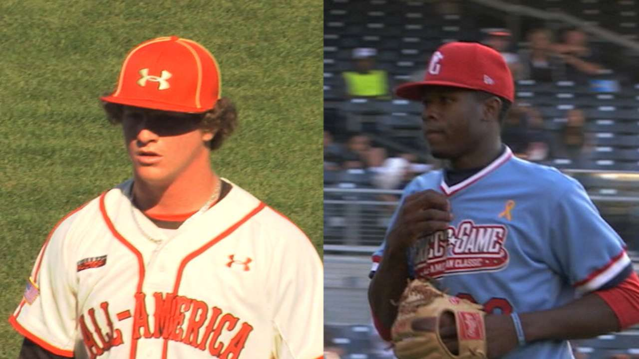 Toussaint rounds out top three prep pitchers