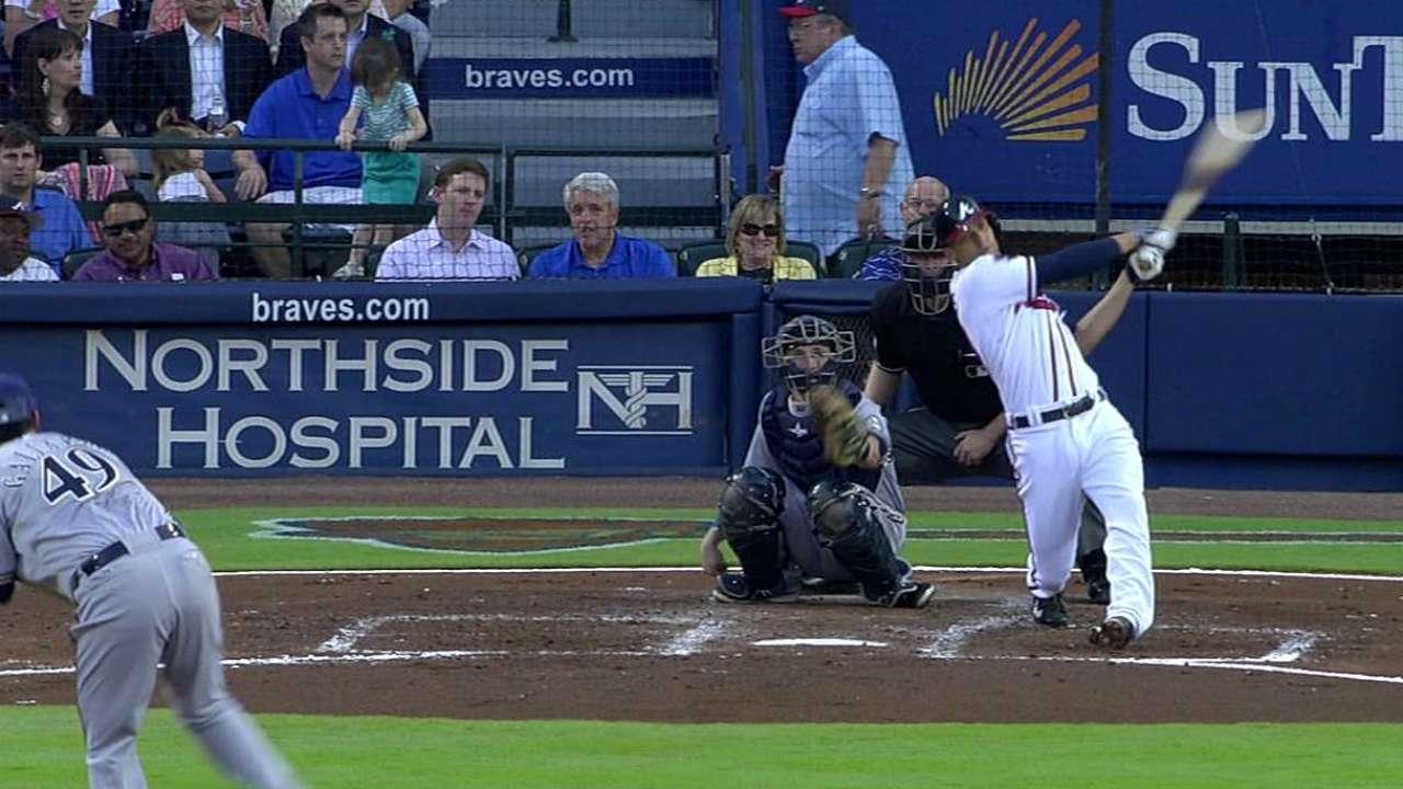Bobblehead night for shortstop Simmons