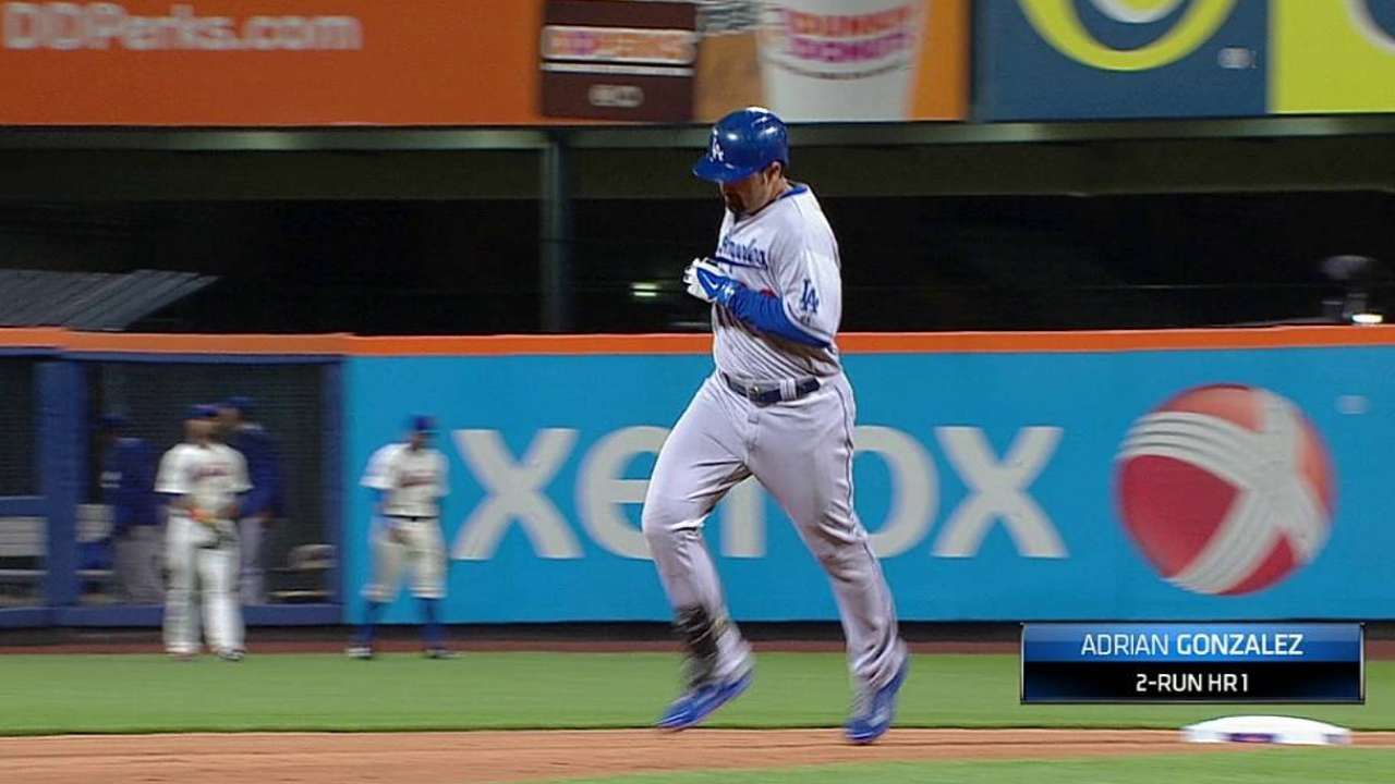 González, Puig impulsan victoria de Dodgers en N.Y.