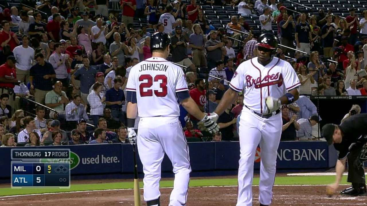 Braves lineup continues to shift as necessary