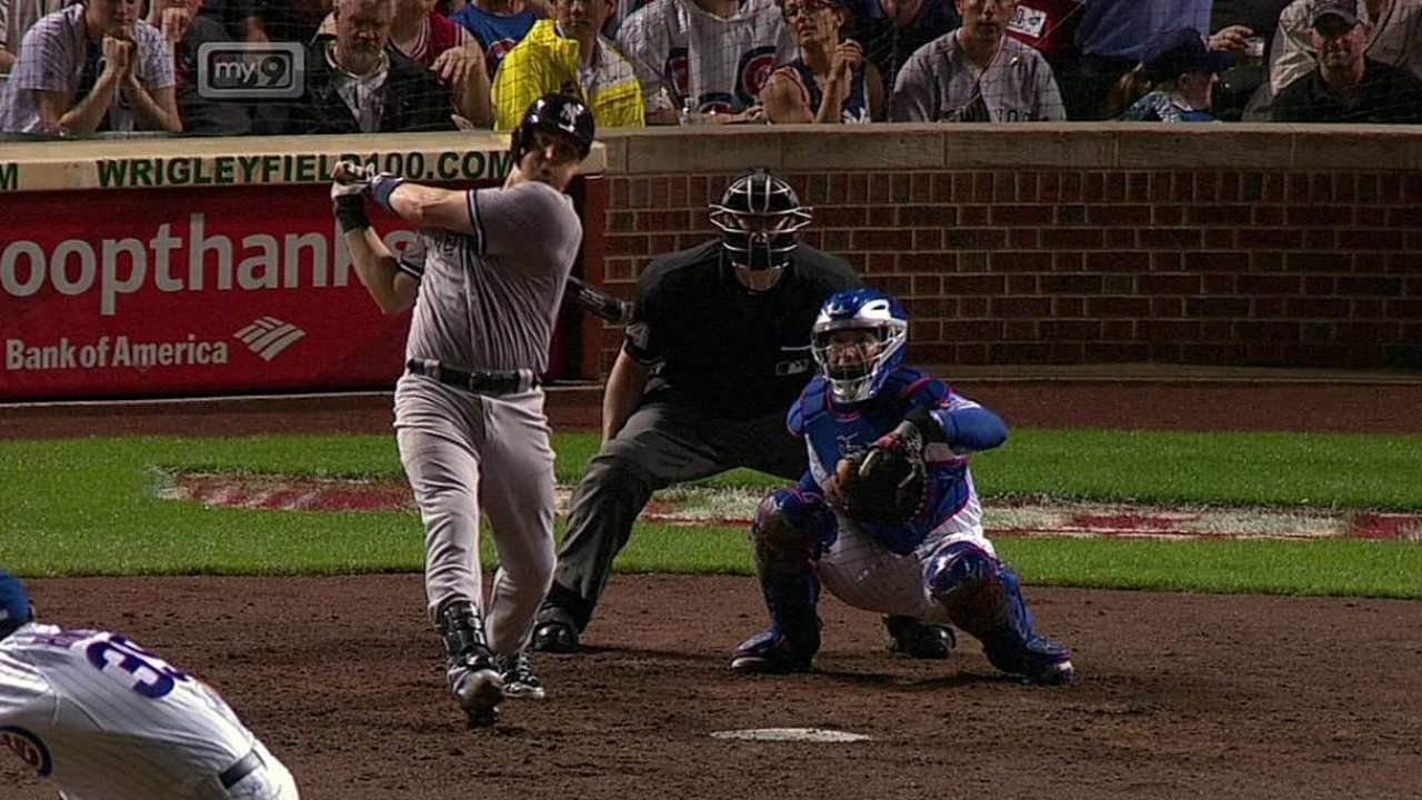 Tanaka falla y Yankees caen con Cachorros