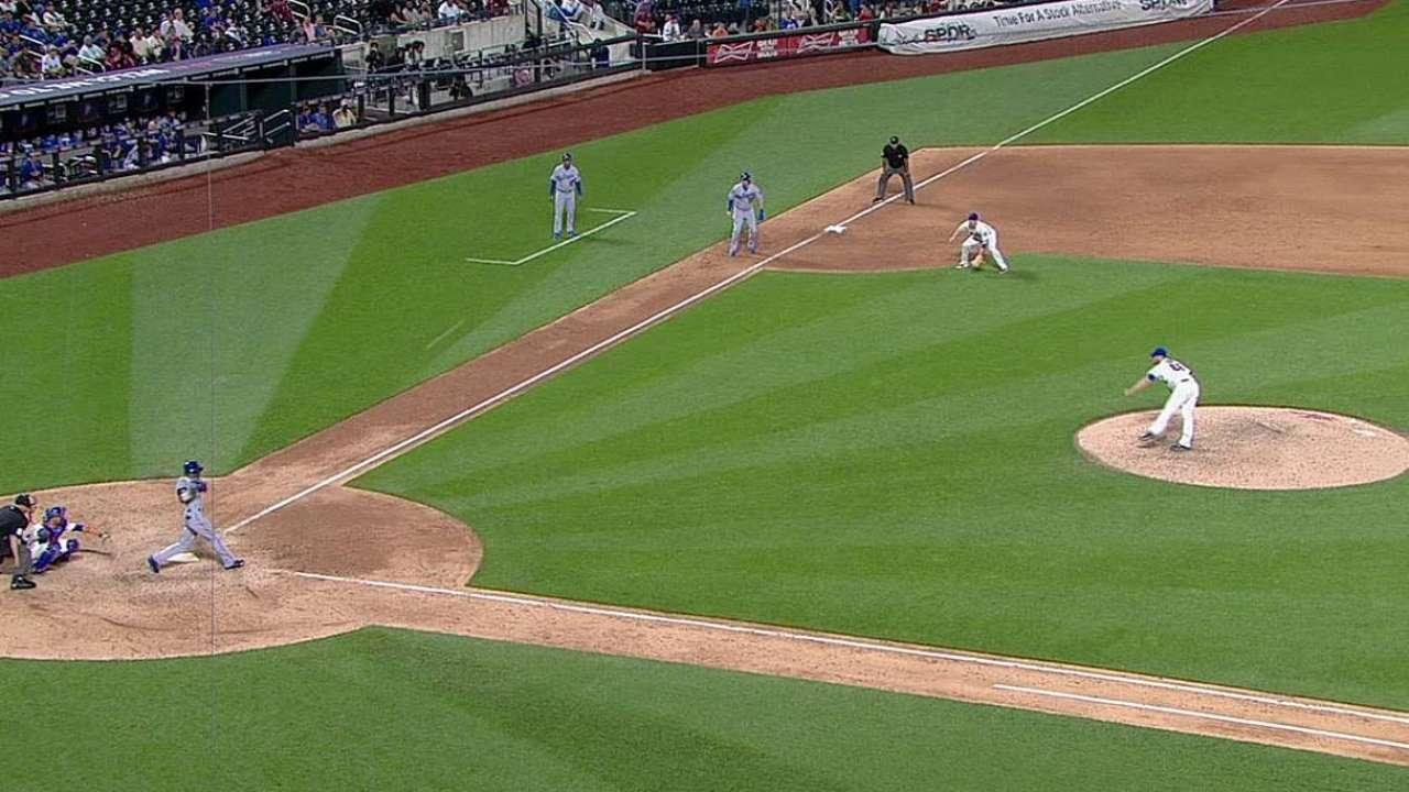 Gordon out of Dodgers' lineup vs. left-hander