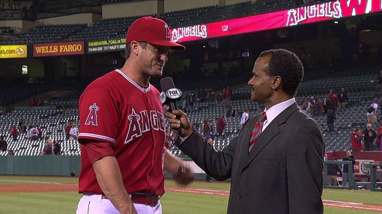 Fueled by Freese, Angels take care of Astros