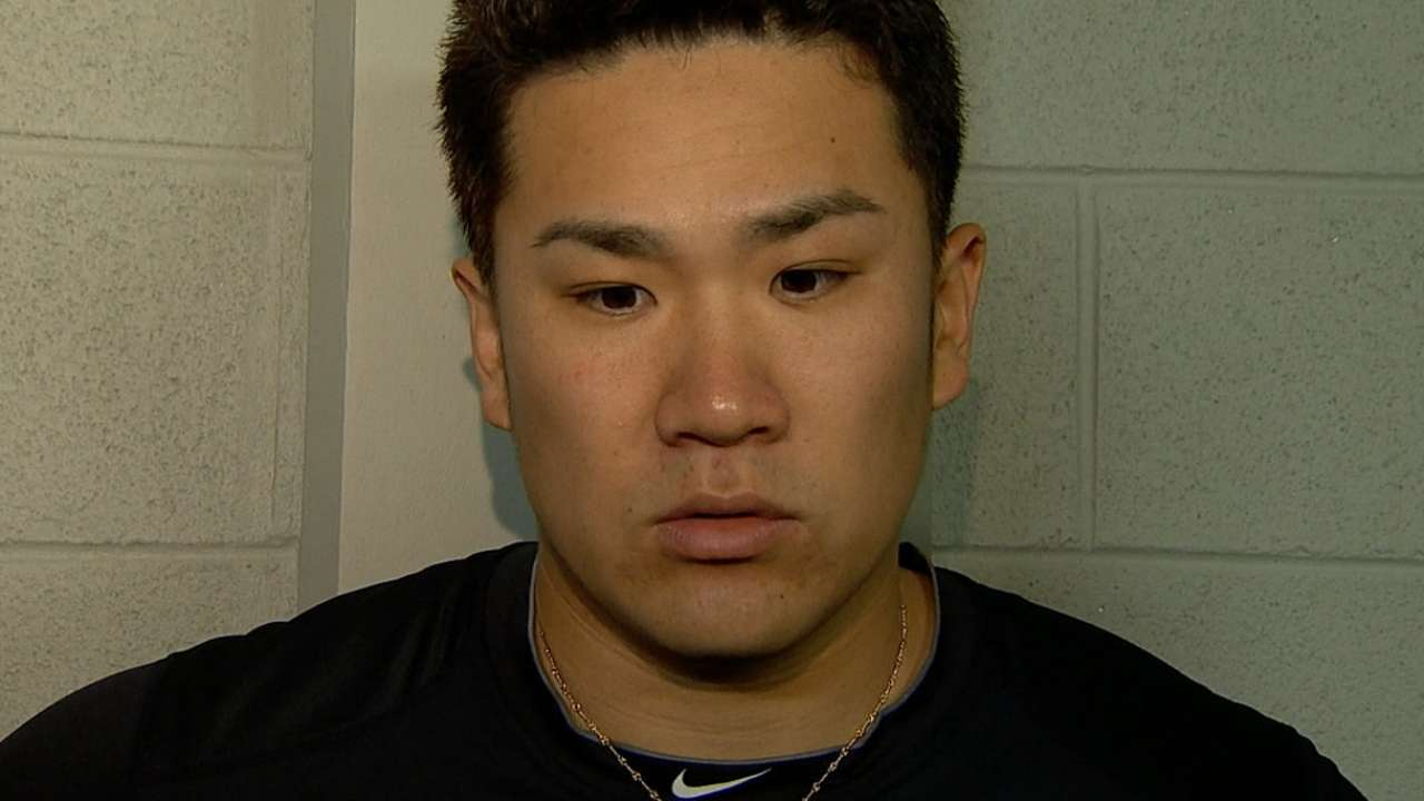 Girardi expects confident attitude from Tanaka