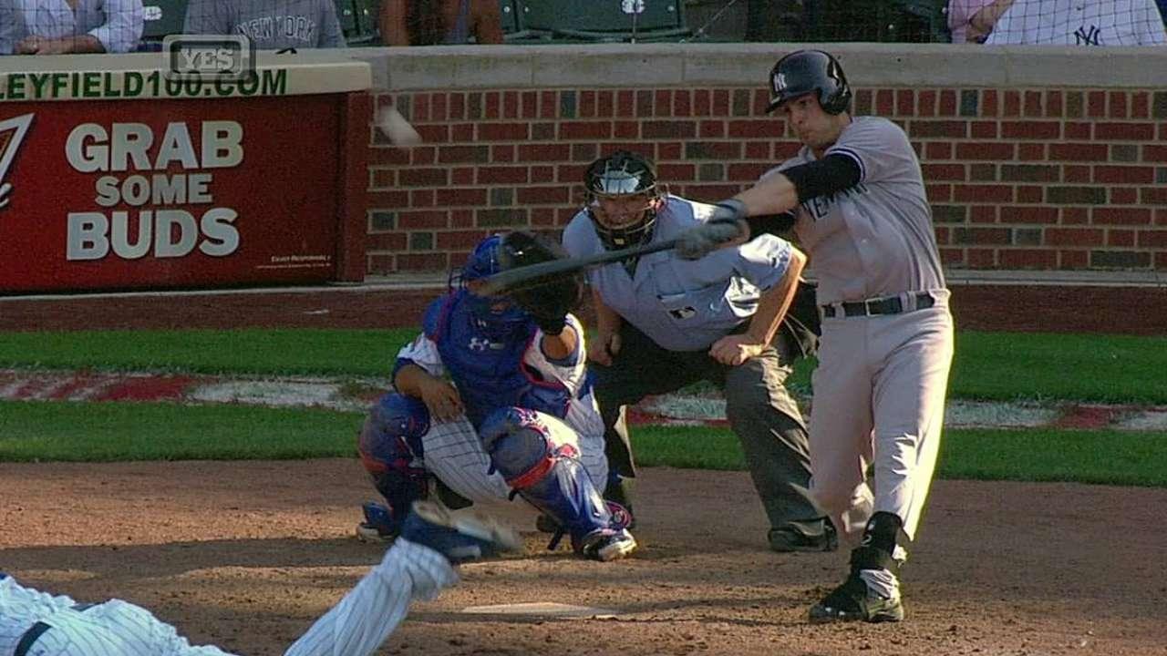 Yankees atacan tarde y vencen a Cubs en 13 innings