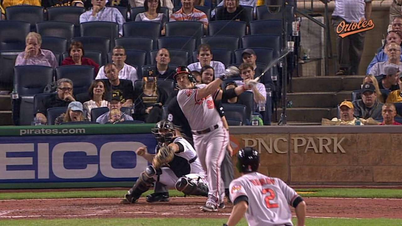 Tillman struggles early, and O's fall late to Bucs