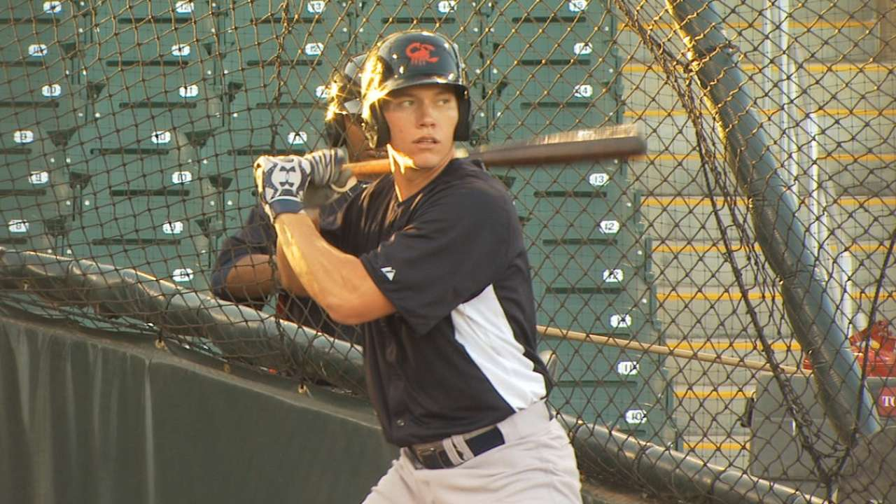 Prospect O'Brien has two-homer night for Trenton