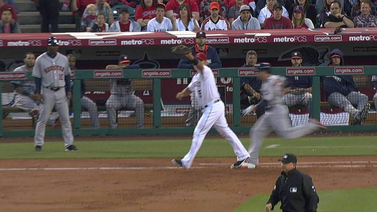 Angels lose challenge, miss out on double play