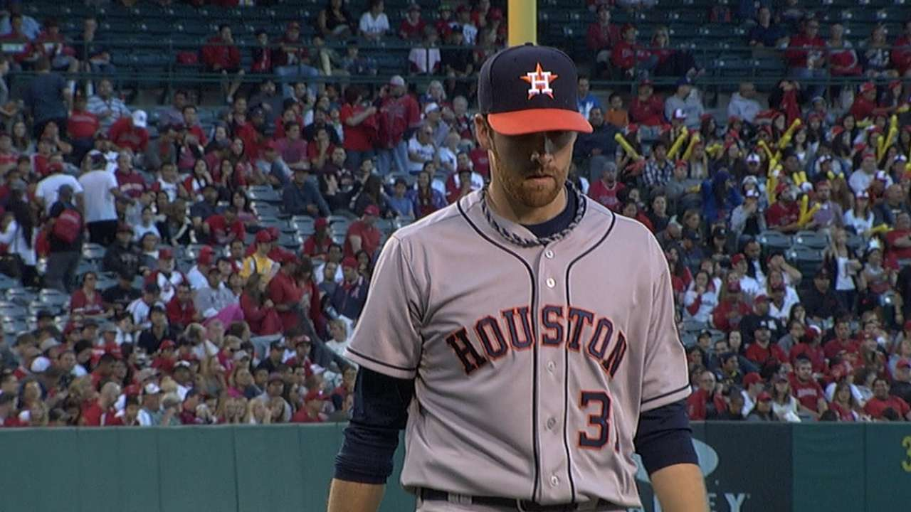 McHugh takes hard-luck loss as Astros held in check