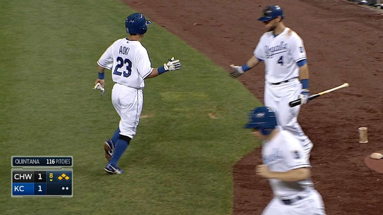Royals eke out finale victory over White Sox