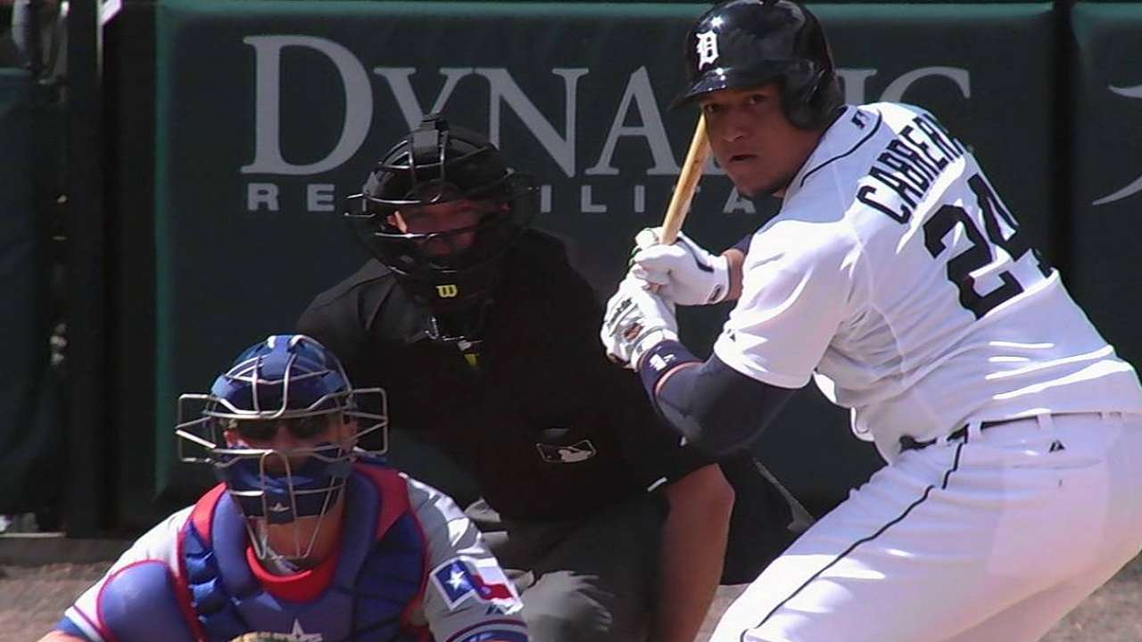 Tigers, Ray can't hold down Rangers