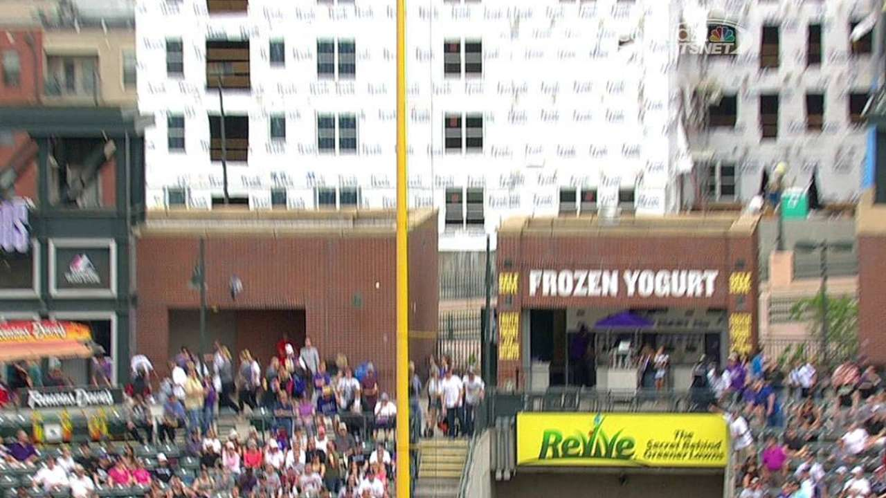 Rockies' successful challenge reverses Panda's homer