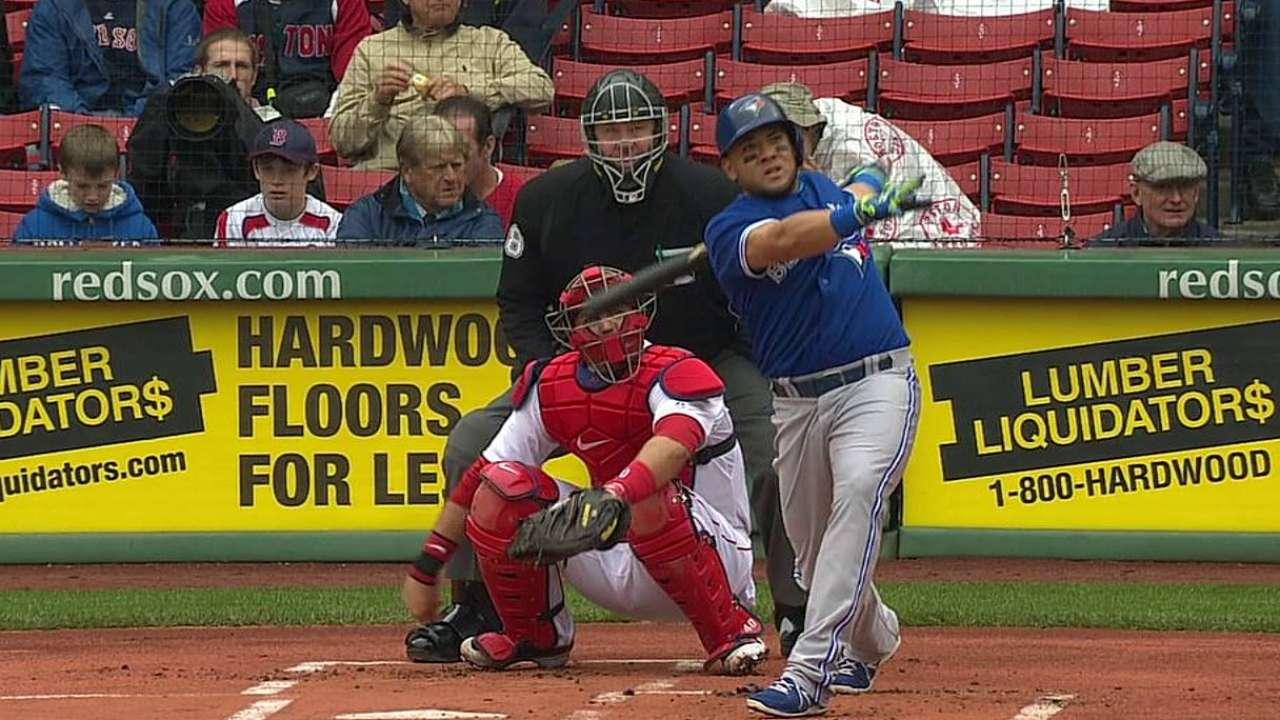 Melky y Bautista dieron HR y Toronto barrió a Boston