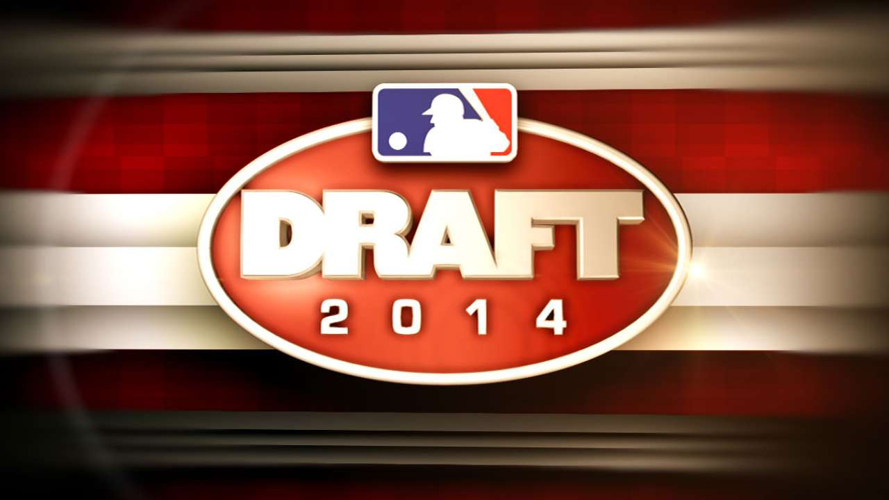 A's draft high school pitcher in eighth round