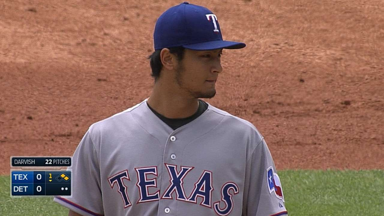 Darvish officially cleared to start Sunday