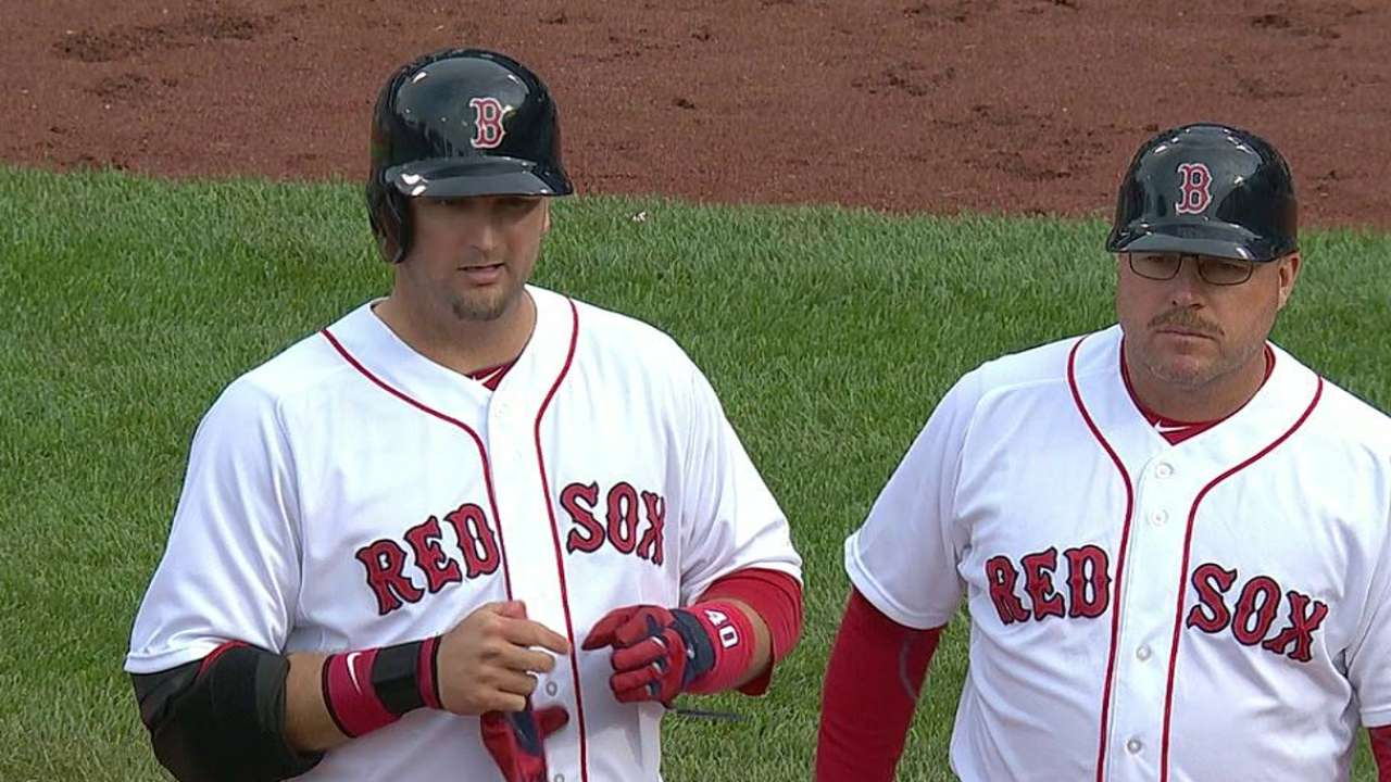 Pierzynski gets rare start with Lester on hill