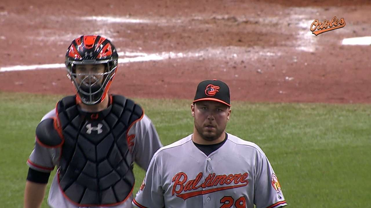 Hunter could return to Orioles on Sunday