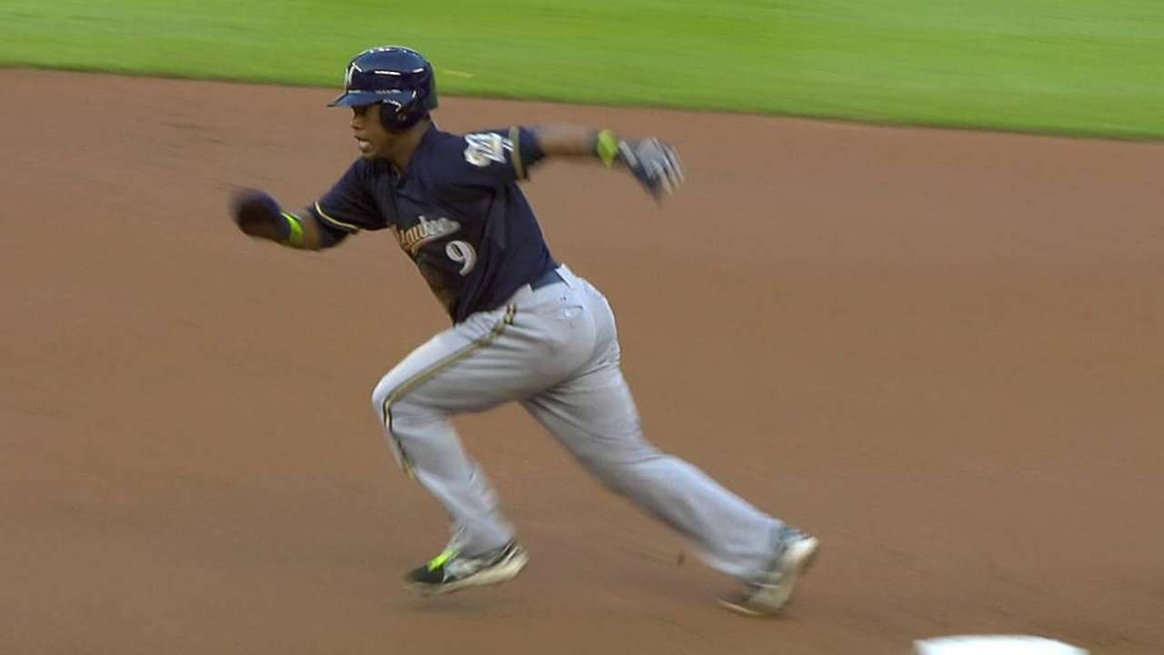 Segura commands basepaths at leadoff spot