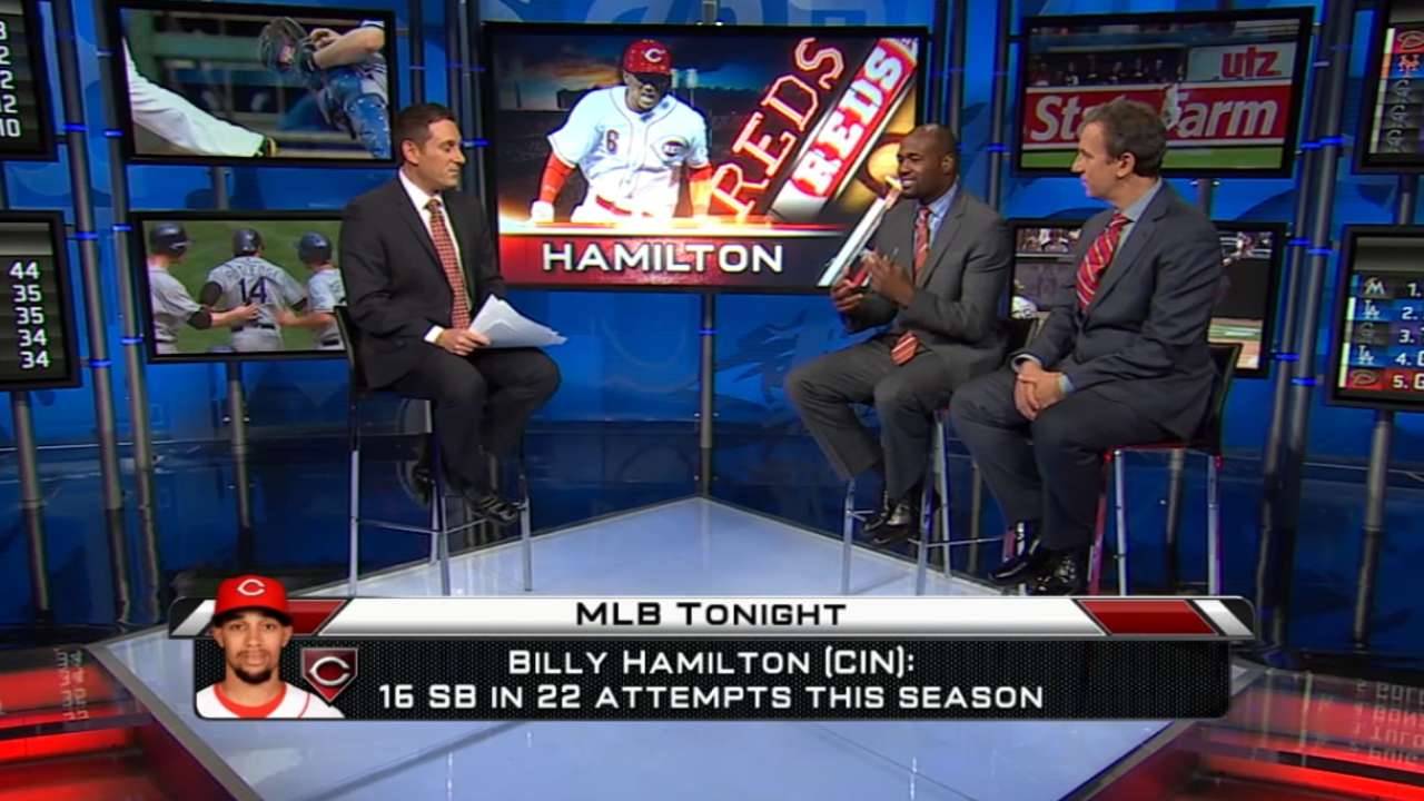 Hamilton gets break from Reds' starting lineup
