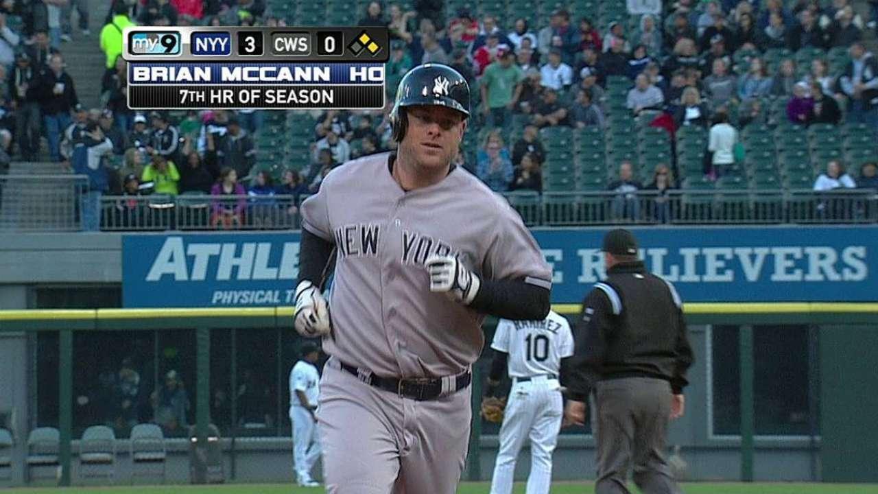 Yankees caen en la novena ante los Medias Blancas