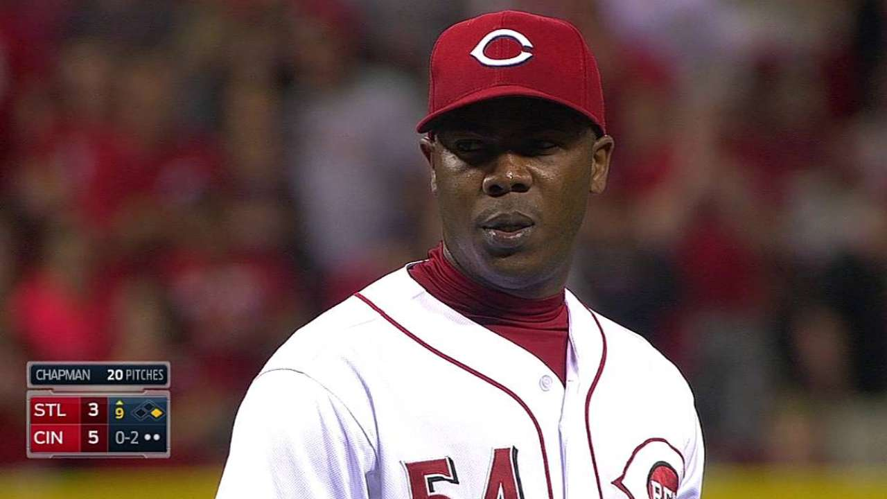Chapman's excellent changeup becoming weapon