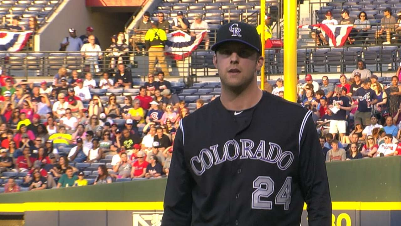 Lyles gives inspired effort, but Rox fall, lose Arenado