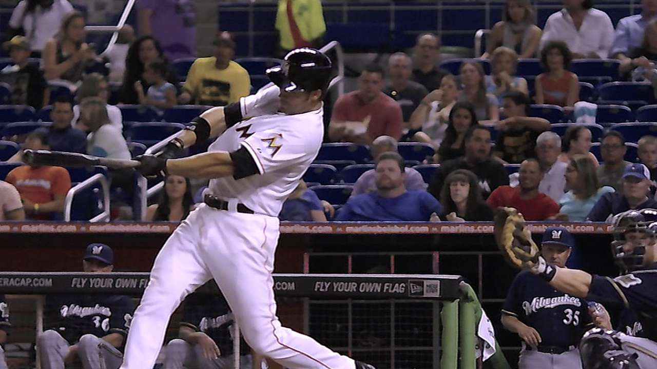 Valuing doubles, Marlins hitting more homers